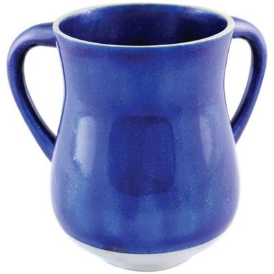 נטלה אלומיניום 13.5 סמ בגוון כחול עם נצנצים