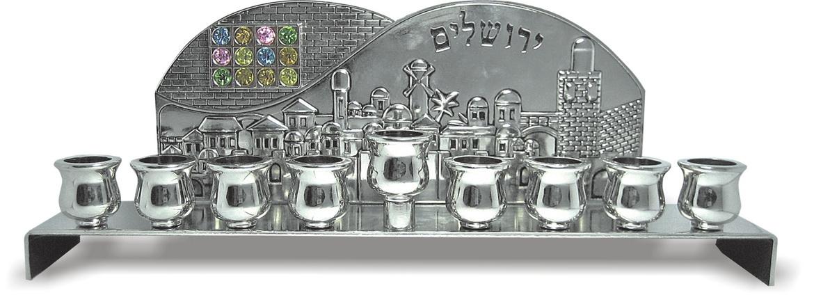 חנוכיה ירושלים ניקל