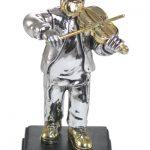"""חסיד מוכסף 8 ס""""מ עם כינור"""