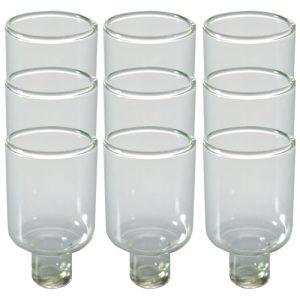 """תשיעיית כוסית זכוכית לשמן 5 ס""""מ"""