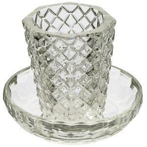 כוס קידוש עם קריסטל תחתית