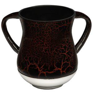 נטלה אלומיניום מהודרת גוון אדום שחור 13.5 סמ
